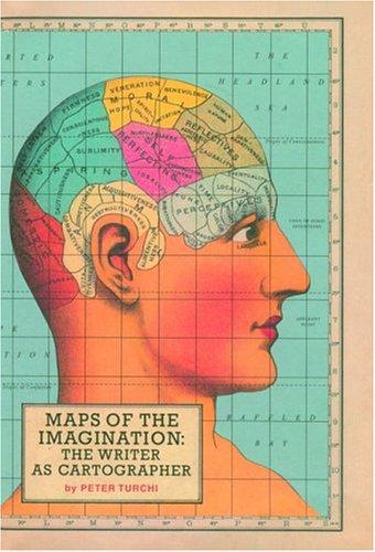 Maps of Imagination by Peter Turchi  Cover design: Pentagram