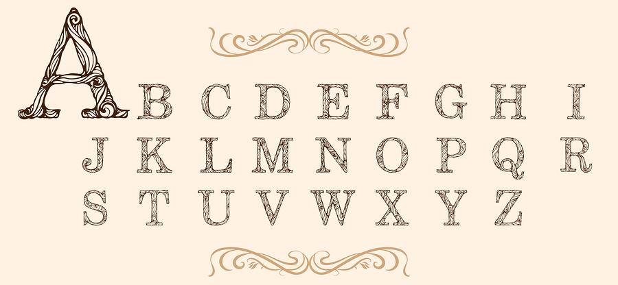 Alphabet set |  NadiiaZ