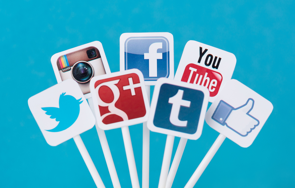 Image of social media icons.