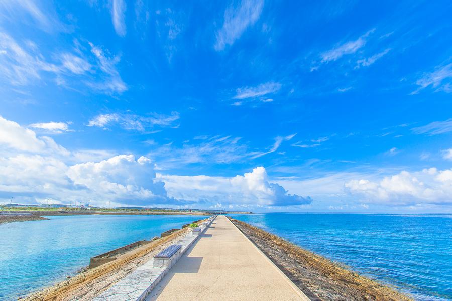 Blue Sea & Sky