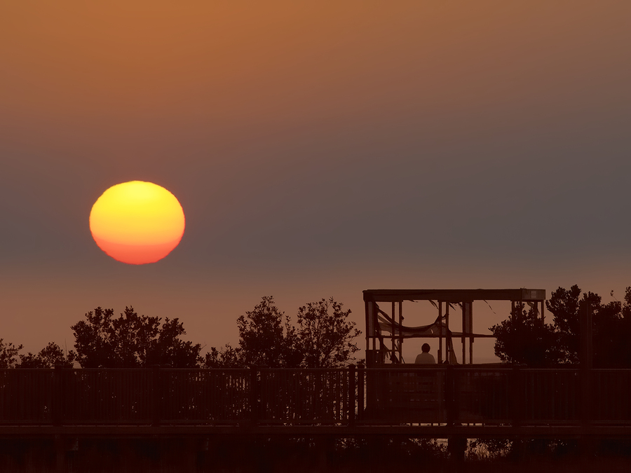 Image of Sunset at South Padre Island by drsuth48