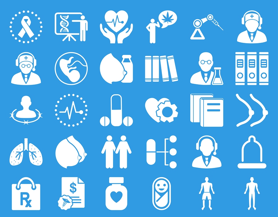 Medical icon set |  Aha-soft