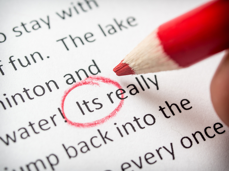 Proofreading by photosquared