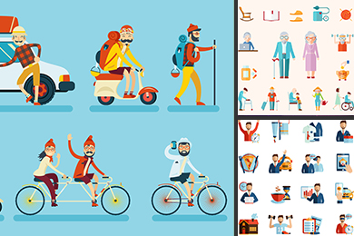 lifestyle vector illustration